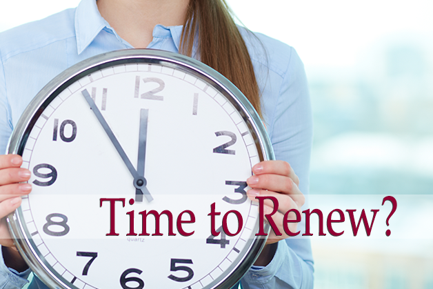 Time to Renew your Mortgage?
