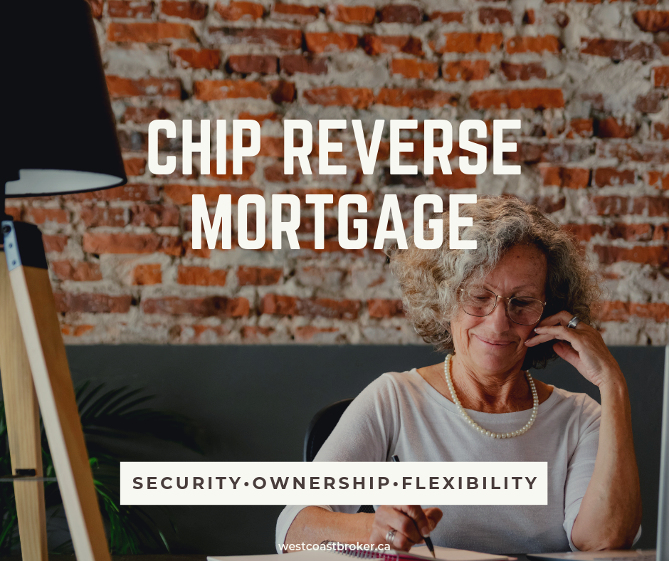 Security Ownership Flexibility - CHIP Reverse Mortgage